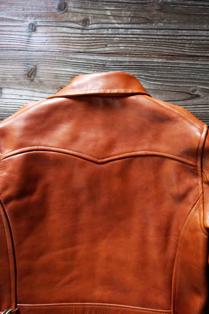 GANGSTERVILLE 30'S CAR COAT - HORSE HIDE BROWN