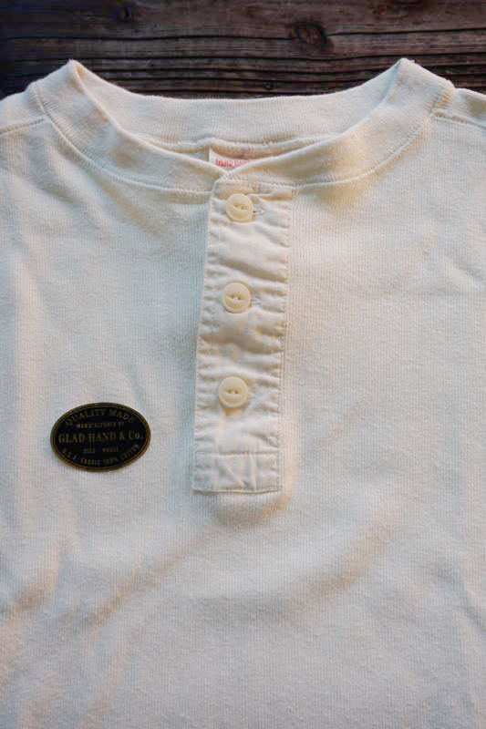 GLAD HAND THICK HENRY L/S T-SHIRTS