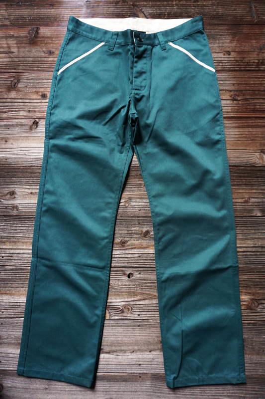 5 WHISTLE WORK PANTS GREEN