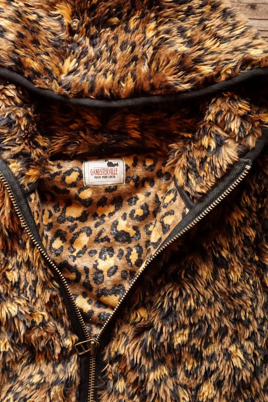 GANGSTERVILLE RISE ABOVE - SHAGGY PARKA BROWN