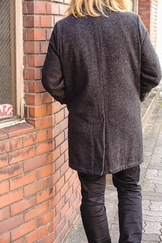 GANGSTERVILLE PHILIPS - COAT BLACK