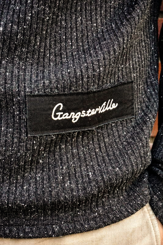 GANGSTERVILLE THUG - TURTLE NECK SWEATER BLACK