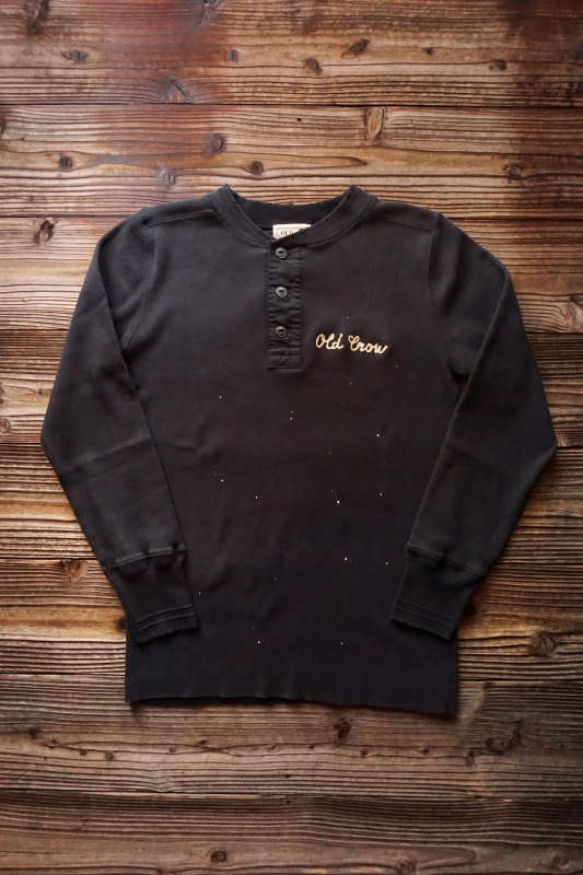 OLD CROW FASTEST - L/S T-SHIRTS BLACK