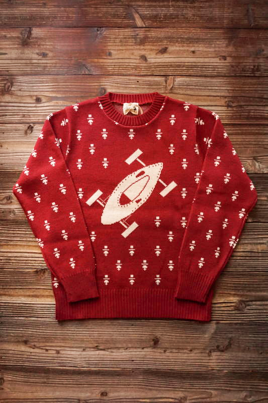 OLD CROW BELLY TANK - SWEATER RED