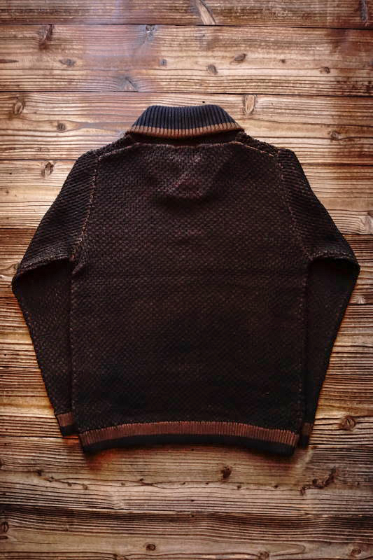 GANGSTERVILLE THUG - SHOWL SWEATER BROWN