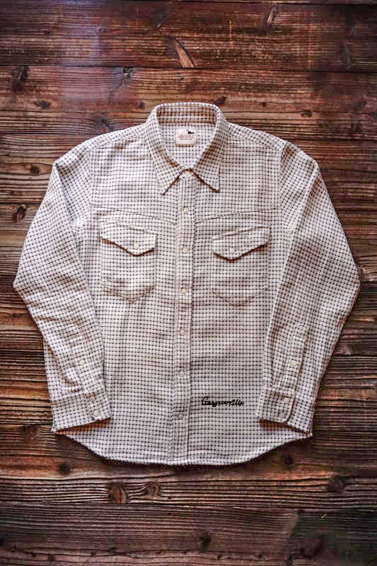 GANGSTERVILLE GOLD WEST - L/S SHIRTS WHITE