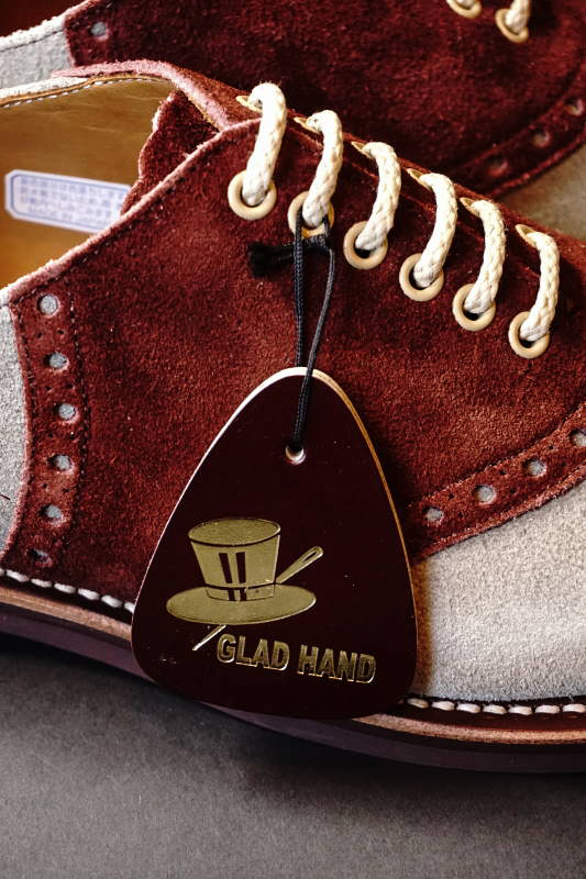 GLAD HAND × REGAL SADDLE SUEDE - SHOES GRY/BRN