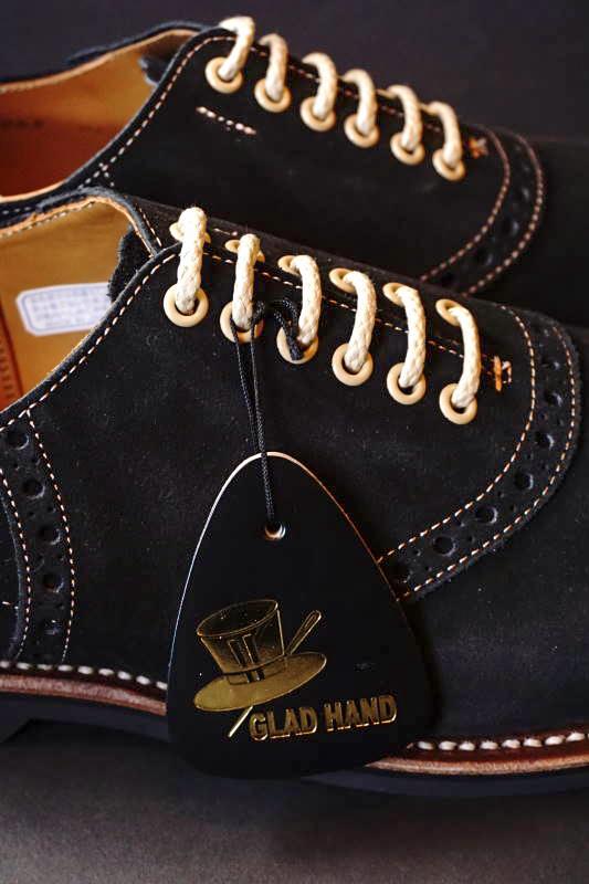 GLAD HAND × REGAL SADDLE SUEDE - SHOES BLACK