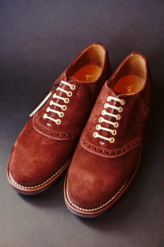 GLAD HAND × REGAL SADDLE SUEDE - SHOES BROWN