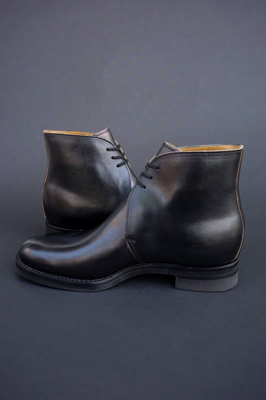 CLINCH George boots Horween CHXL Black