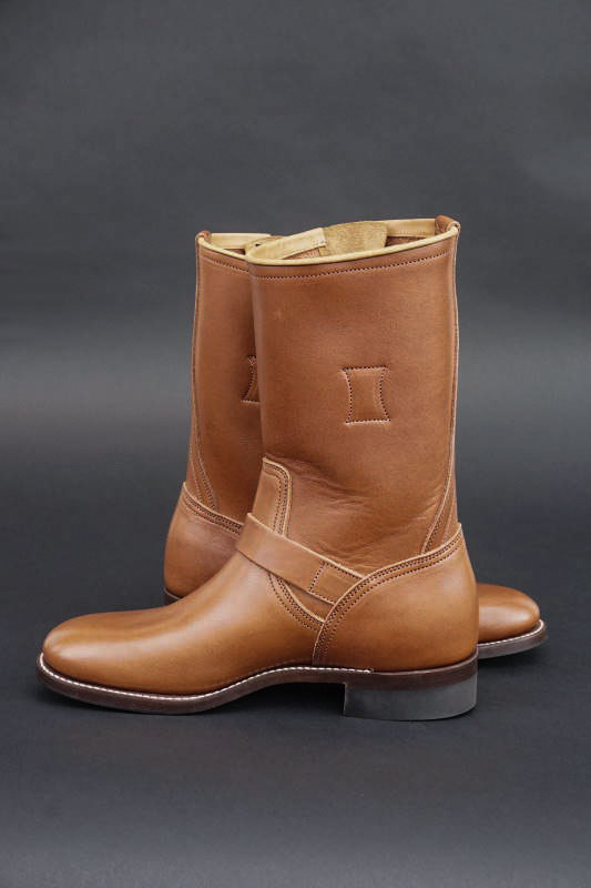 CLINCH Engineer boots Full VG Brown