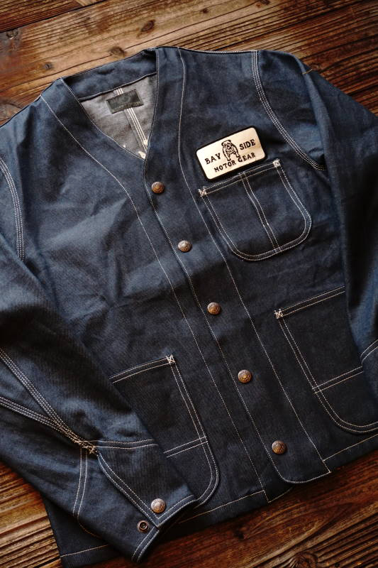 B.S.M.G. ENGINEER - JACKET INDIGO