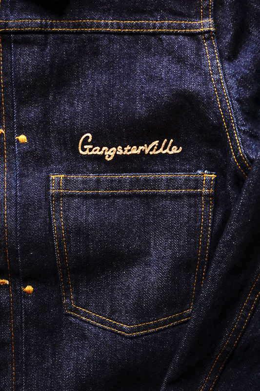 GANGSTERVILLE GREASER - JACKET INDIGO