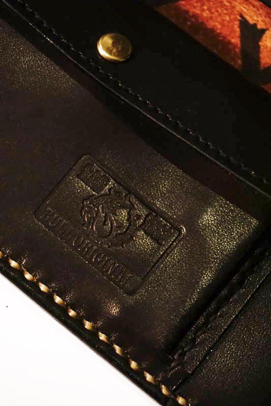 B.S.M.G. B.O. Emboss Wallet PAY YOU BULL DOG BLACK