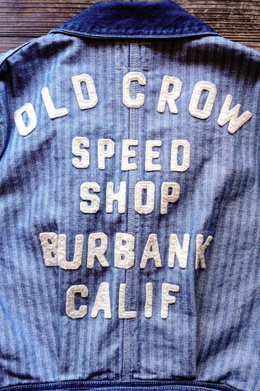 OLD CROW SPEED SHOP - COAT ※LONG INDIGO