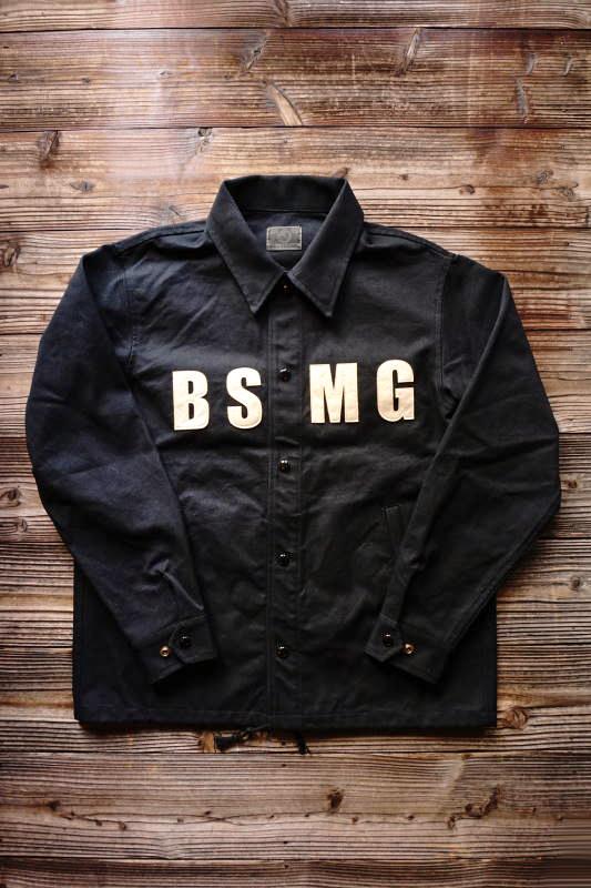 B.S.M.G. WORK - JACKET BLACK