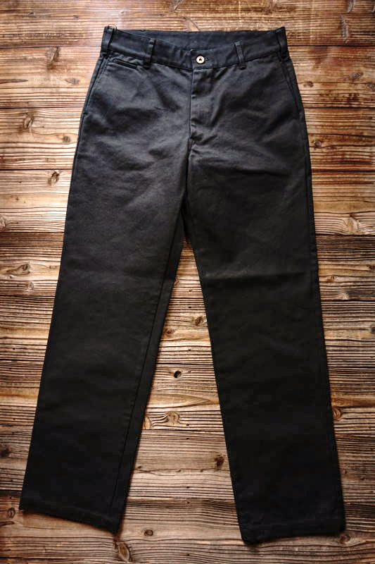 B.S.M.G. WORK - PANTS BLACK