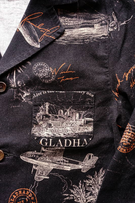 BY GLAD HAND POSTAL - JACKET BLACK