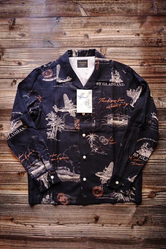 BY GLAD HAND POSTAL - L/S SHIRTS BLACK
