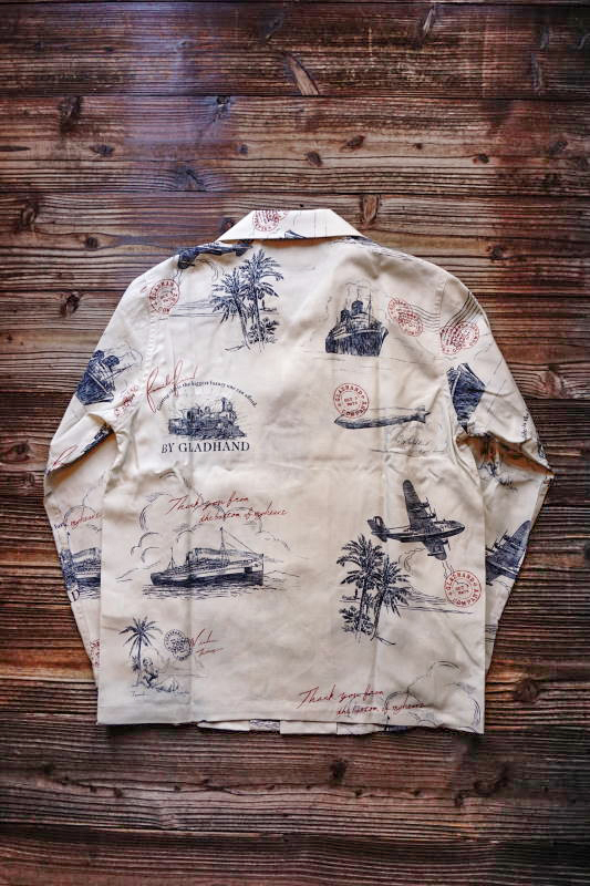 BY GLAD HAND POSTAL - L/S SHIRTS IVORY