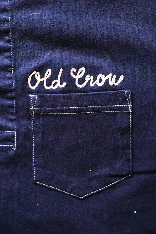 OLD CROW 1933 - S/S HENRY T-SHIRTS NAVY
