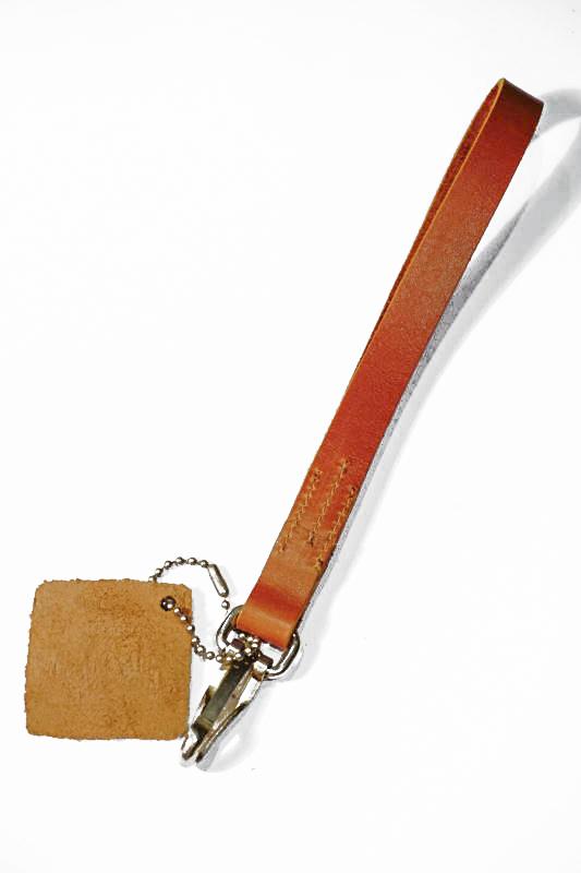 GLAD HAND & Co. GH NORTH & JUDD - BRACELET KEY FOB GOLDEN BROWN