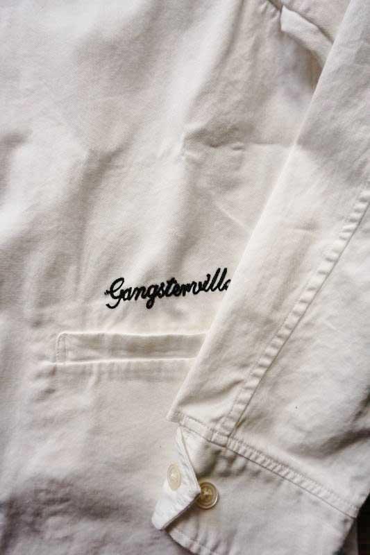 GANGSTERVILLE LADY KILLER - JACKET WHITE