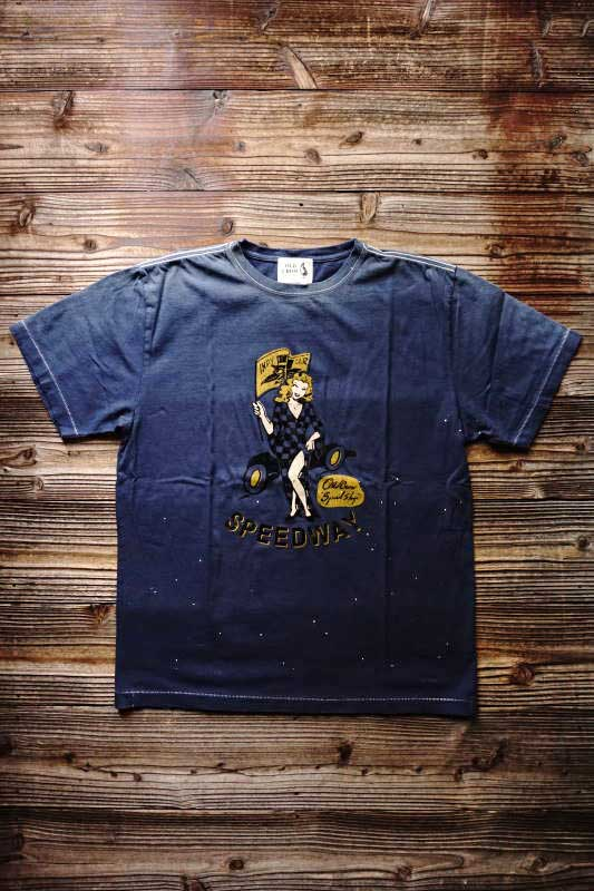 OLD CROW SPEEDWAY - S/S T-SHIRTS NAVY