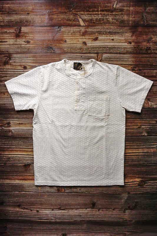 BY GLAD HAND WARDROBE - HENRY NECK S/S T-SHIRTS