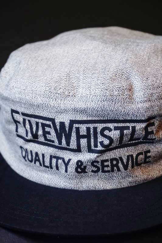 5 WHISTLE PAINTER CAP GRAY