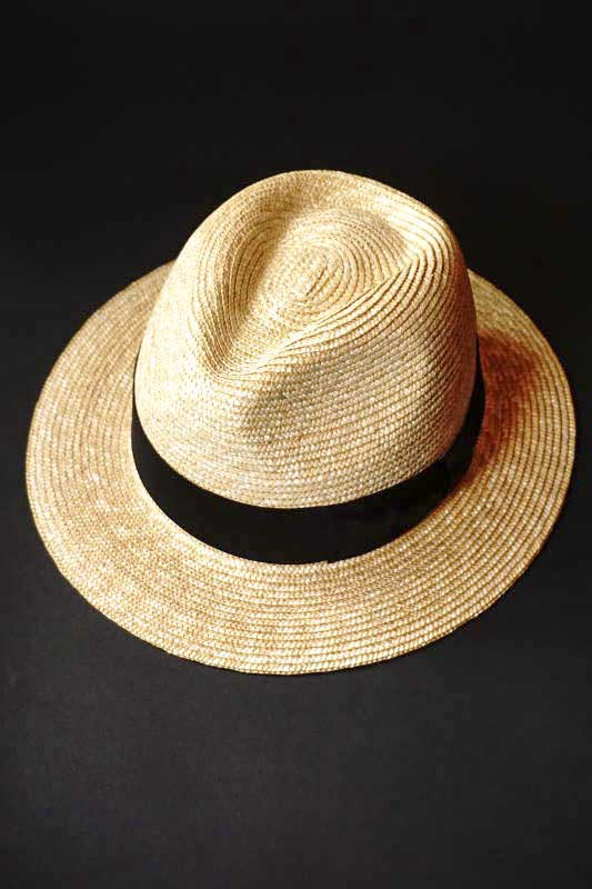 B.S.M.G. PAISLEY - HAT NATURAL
