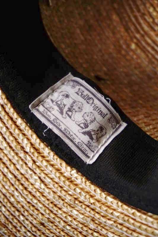 B.S.M.G. PAISLEY - HAT NATURAL