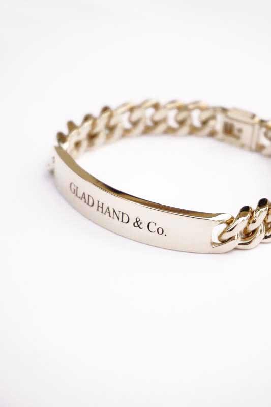 GLAD HAND JEWELRY BRACELET K10 GOLD