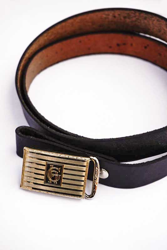 GLAD HAND JEWELRY SLIDE LOCK BUCKLE BELT