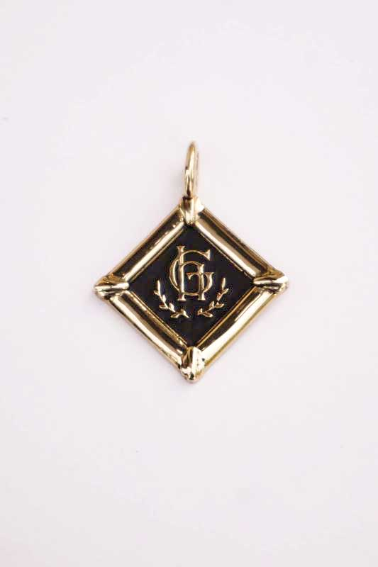GLAD HAND JEWELRY FOB TOP K10 GOLD
