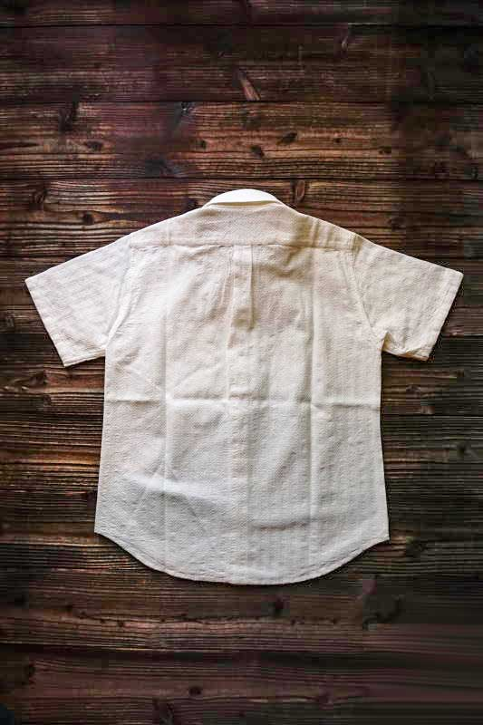 BY GLAD HAND BEAU GLADDEN - LONG POINT S/S SHIRTS WHT×BLK