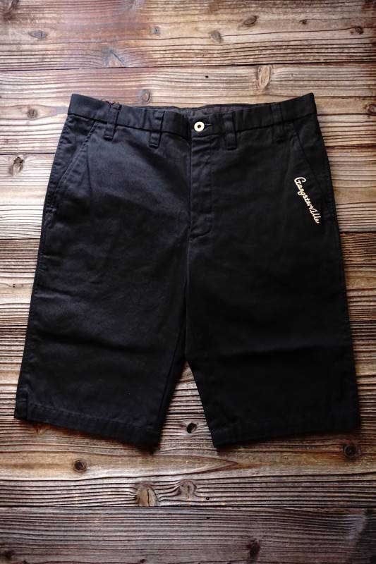 GANGSTERVILLE GREASER - SHORTS BLACK