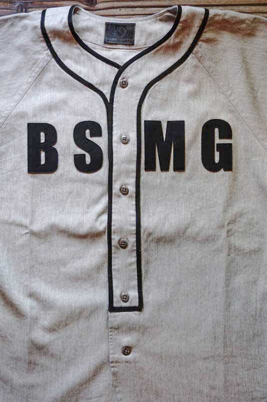 B.S.M.G. BASEBALL - SHIRTS GRAY