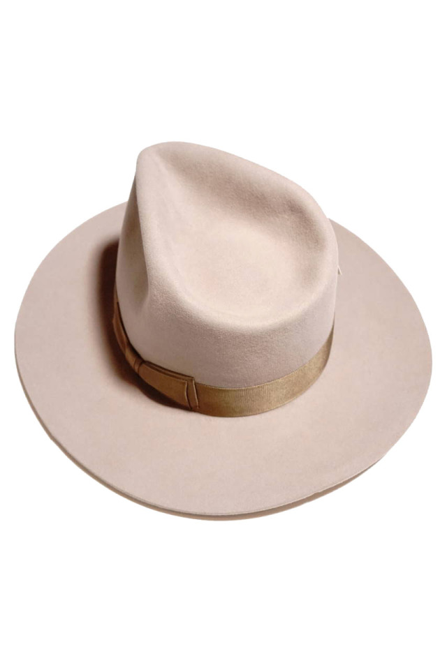 GLAD HAND & Co. -  HAT ALONE BEIGE