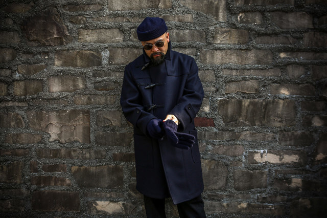 BY GLAD HAND ROYAL GLADDEN - COAT ※LONG NAVY