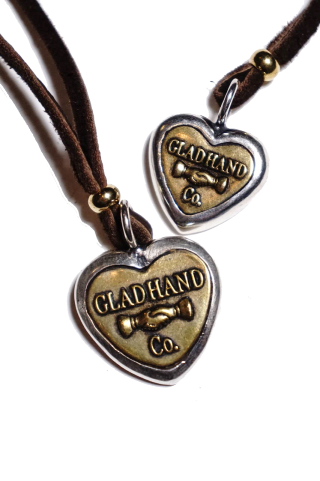 GLAD HAND BUTTON CHARM