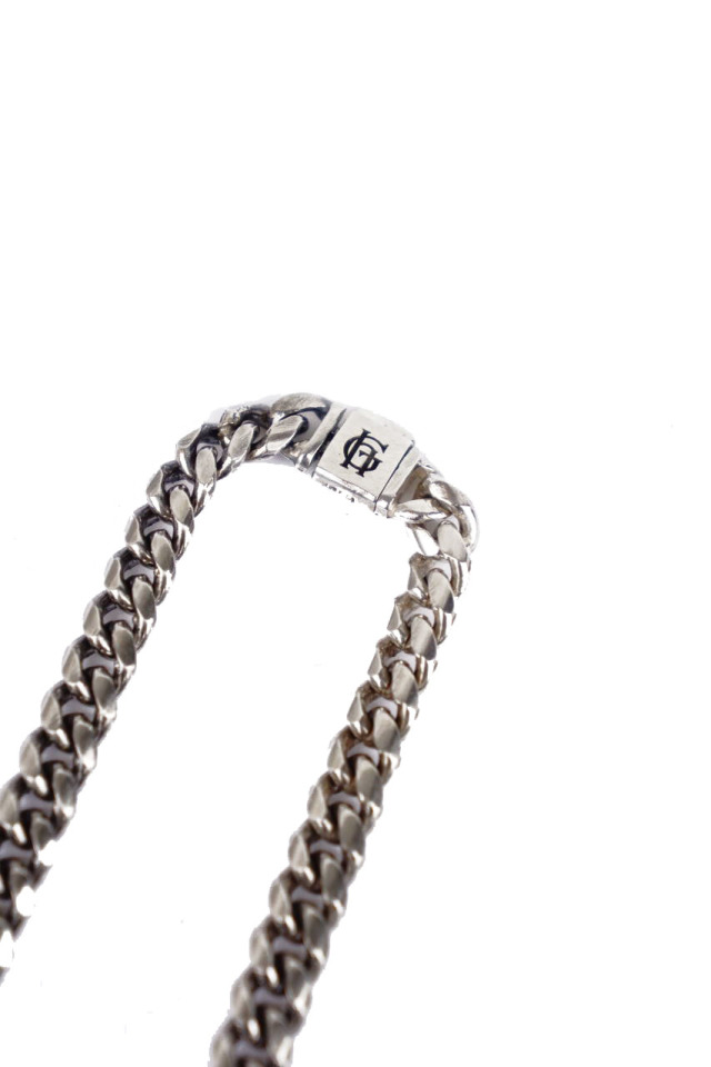 GLAD HAND JEWELRY NARROW CHAIN NECKLACE SILVER925