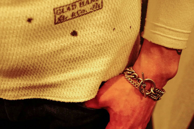 GLAD HAND JEWELRY  CHAIN BRACELET SILVER925