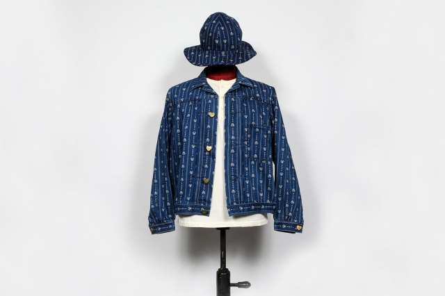 BY GLAD HAND HEARTLAND - JACKET INDIGO