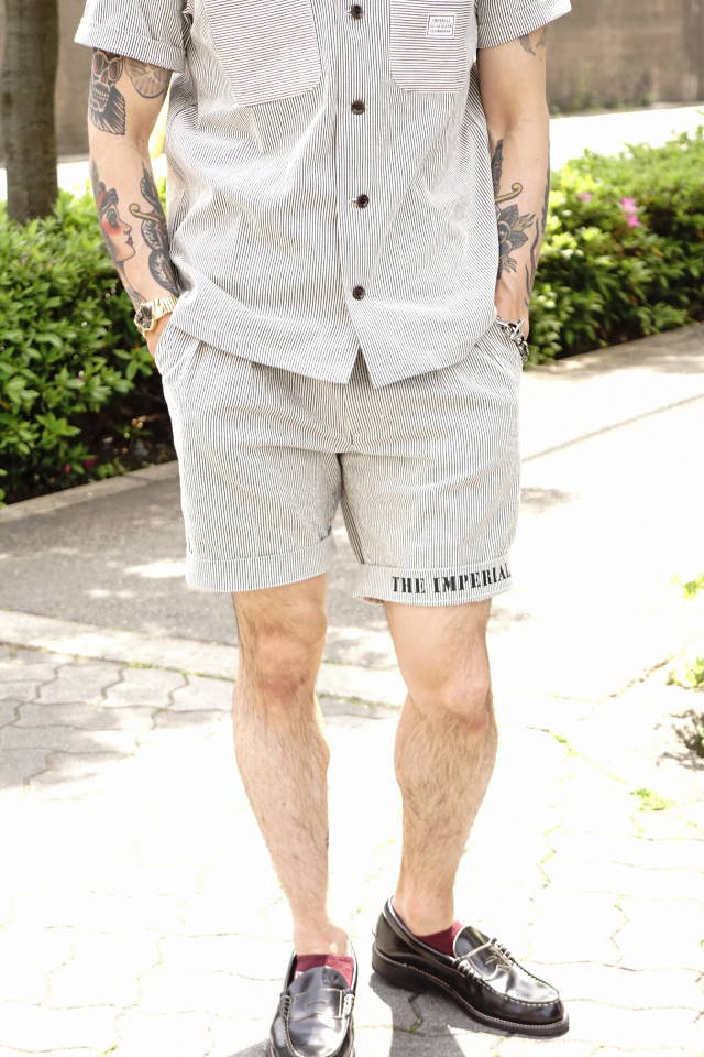 BY GLAD HAND IMPERIAL - SHORTS IVORY