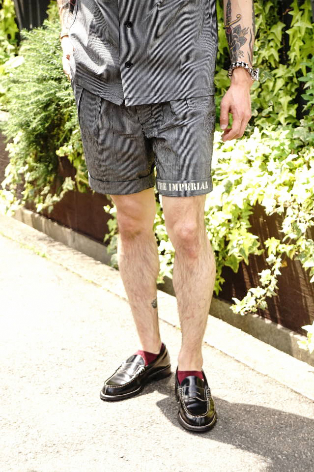 BY GLAD HAND IMPERIAL - SHORTS BLACK