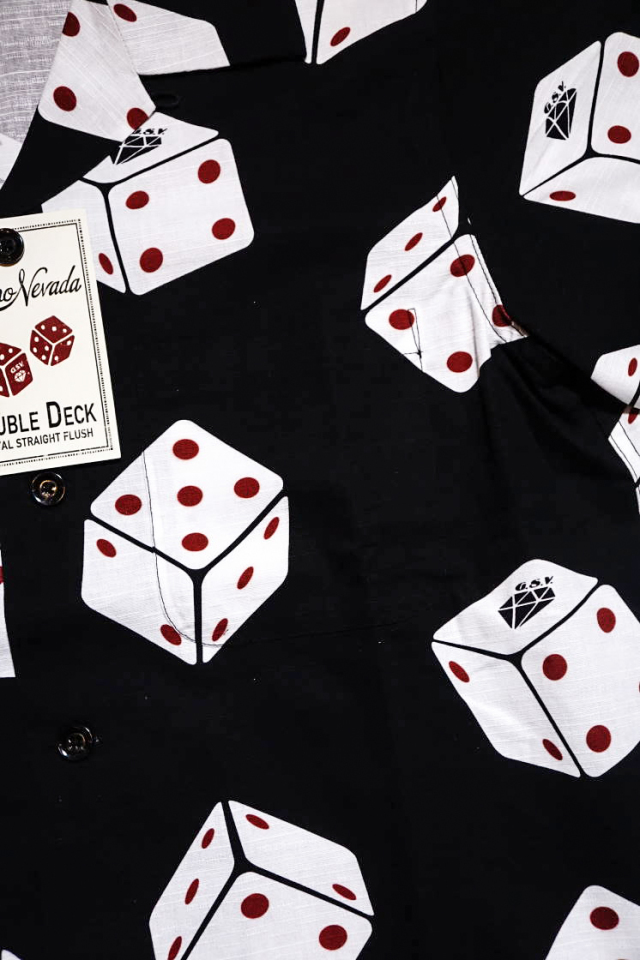 GANGSTERVILLE TUMBLING DICE - S/S SHIRTS BLACK