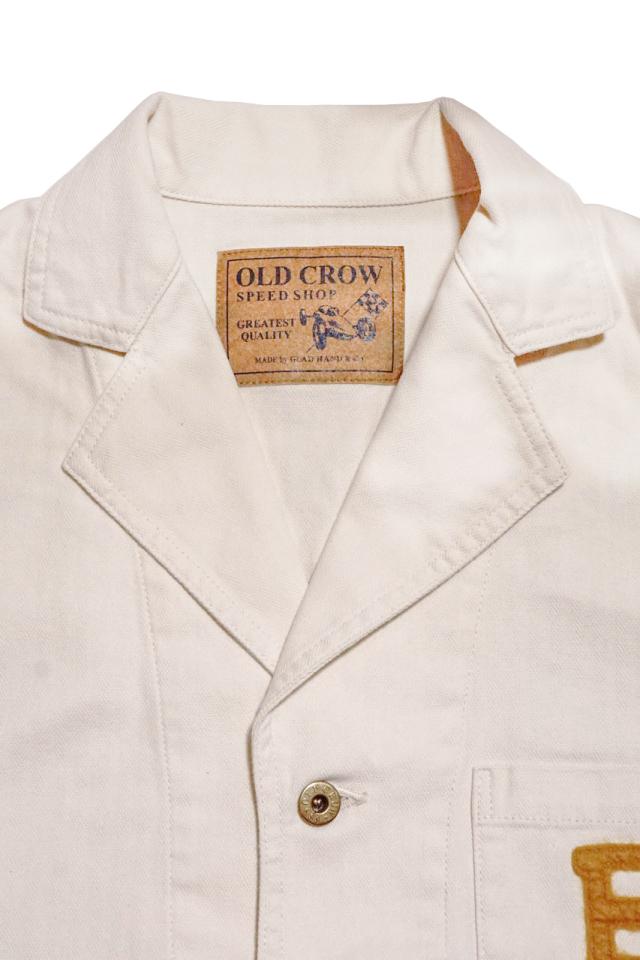 OLD CROW HOTROD CLUB - JACKET IVORY