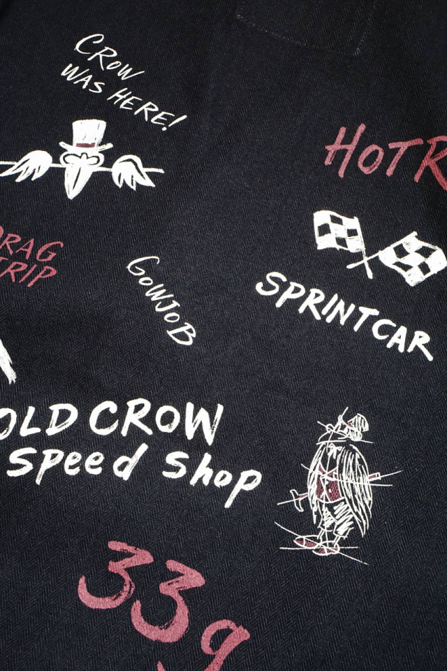 OLD CROW HOTROD CLUB - JACKET BLACK