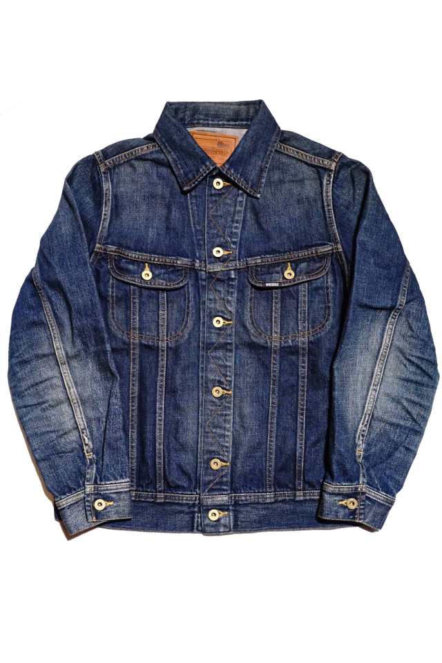 GANGSTERVILLE THUG RIDE - DENIM JACKET INDIGO